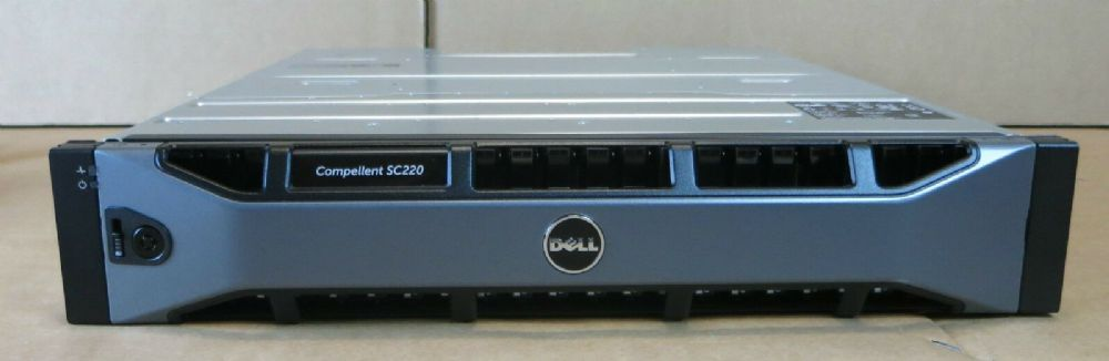Dell Compellent SC220 7.2TB 24 x 1.2TB 10K 12G SAS Expansion Shelf / JBOD